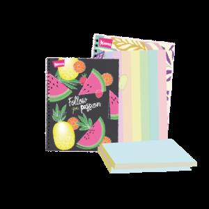 Cuadernos, blocks y hojas